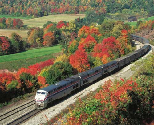 Amtrak Preparing for Thanksgiving Rush with Expanded
